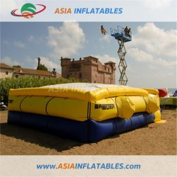 Navy Inflatable Jump Bike Airbag, Extreme Sports Inflatable Air Bag for Adults