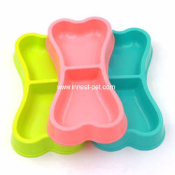 Wholesale Plastic Doggie Food Grade Dog Feeding Feeder Bowl