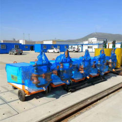 Double Liquid Hydraulic Cement Mortar Mud Grout Injection Pump