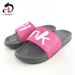 eb04349691a3 Fashion Beach Printing Logo EVA Women Sliders