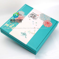 Customize Printing Different Size Paper Packaging Moon Cake Box