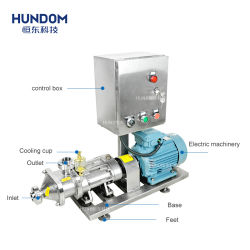 Stainless Steel Food Industry Twin Screw Pump with Speed Inverter