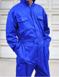 Poly Cotton Safety Coverall Used for Industrial Workwear