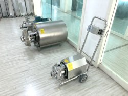 Stainless Steel Food Grade Cow Milk Pump Used for Farm