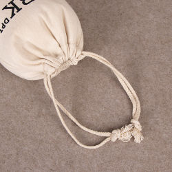 Wholesale Cotton Gift Drawstring Bag, Recycling Promotional Gift Packing Bag