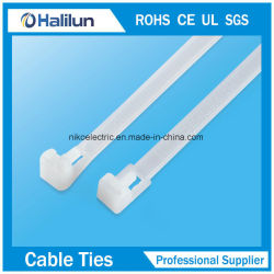 2019 Best Material Plastic Cable Ties Mountable Head Ties for Bundling