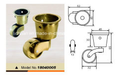 Brass Castors Copper Castors for Furniture Sofa Fittings