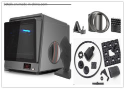 3DTALK Industrial 3D Printer with Dual Nozzle, Heatable Cabin Room and heated build plate supporting multi-color printing-Nylon,Carbon Fiber,Bronze etc