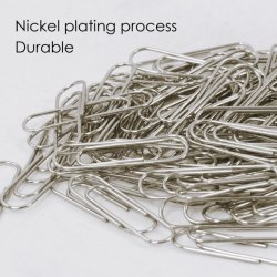 Hot Sale Good Quality Round Nickel Plating Paper Clips