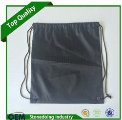 Promotional Custom Logo Cinch Pack Use Nylon Drawstring Bags