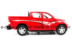 Toyota 1: 32 Pickup Alloy Car with Light Music 3 Color Mixed