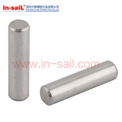 Steel S45c Grooved Straight Dowel Pin