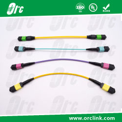 MPO Patchcord Jumper Optical Fiber/ Trunk Cable