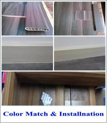 Wood Flooring Accessories of Water-Proof PVC Skirting Board