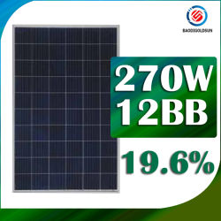 Renewable Yingli ISO 12bb Mbb 60 Cell 280W Poly PV Solar Panel for Market Promotion with Solar Generator in Sri Lanka