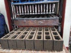 Qt4-15 Automatic Hydraulic Concrete Hollow Block Making Machine Paver Brick Price in Uganda