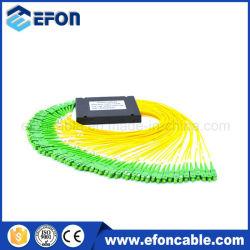 Smart Card ADSL Splitter Loss 1: 64 Fiber Optic PLC Splitter