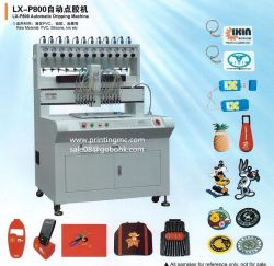 High Precision PVC USB Plastic Dripping Machine with 12 Color Drippers