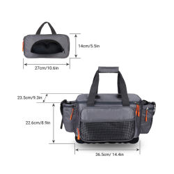 Fishing Tackle Storage Bags, Sports Shoulder Bags - Tournament Proven, Perfect Organizer, Angling-Specific Design, Ergonomic Design
