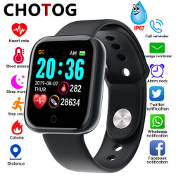 Smart Watch Men Body Temperature Smartwatch Women IP67 Waterproof Sport Fitness Tracker Blood Pressure Heart Rate Monitor