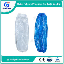 becc68b9b7 Disposable PE LDPE/HDPE CPE Nonwoven Microporous Oversleeves, Waterproof,  Food Processing Clean Room