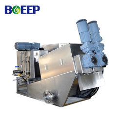 Volute Screw Press Slurry Filtration Equipment Domestic Wastewater Treatment Systems