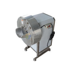 Tengsheng Food Processor Manufacturer 2 in 1 Ginger Carrot Potato Slicing Shredding Machine Commercial Vegetable Cutter (TS-Q100)