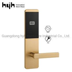 Safe Smart Security Digital Keyless Card Code Alarm Aluminum Alloy Door Handle Locks