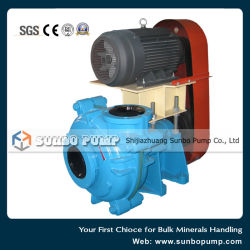Metal Lined Centrifugal Pump Horizontal End Suction Slurry Pump with