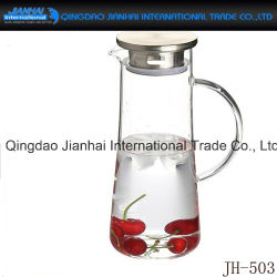 Clear Glass Bottle Cold Water Pot for Household