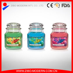 Wholesale Cheap Clear Glass Candle Holder with Lid