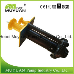 Centrifugal Vertical Mineral Processing Effluent Handling Slurry Pump