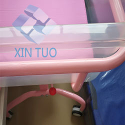 Factory Low Price Hospital Baby Bed Flat Iron Children's Care Beds