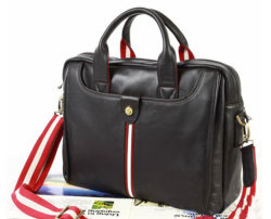 High Quality Leather Men Briefcase Case (B75701)