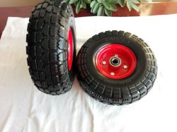Factory Directly Sale 10 Inch Solid Rubber Wheel for Trolley