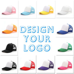 5 Panel Good Quality Cheap Price Wholesales Mesh Trucker Cap Trucker Hat Sports Cap, Blank Cap Blank Hat.