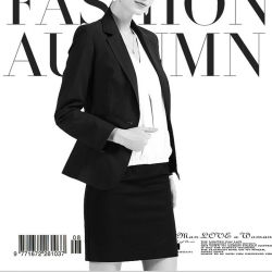 One Buttom Slim Fit Ladies Formal Business Suit Jacket