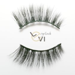 cea0e6a743e Beauty Products Soft Silk Artificial Eyelashes, Synthetic Fiber Individual  Strip Eyelashes (M6D-011