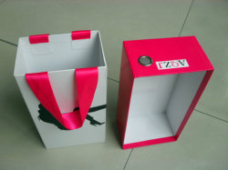 Cartboard Shoe Boxes with Drawer and Corn