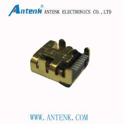 Mini USB Connector 8p Receptacle SMT