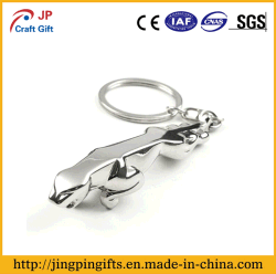 Promotional Gift Items Custom Metal Key Chain with Ring