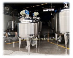 High Speed Mixing Tank 1000lwith 3000rpm Mixing Speed