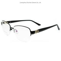 cfa2cc15af8 Wholesale Products Latest Fashion Design Spectacle Frames Half Rim Metal  Optical Eyeglasses Frame