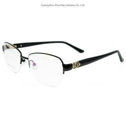 85cec3a376fe Wholesale Products Latest Fashion Design Spectacle Frames Half Rim Metal Optical  Eyeglasses Frame