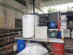 Slurry Ice for Fish, Seafood, Seawater Ice Machine Vessel 15t/Day