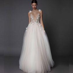 6de3b451c Elegant Sex Fashion Ivory Lace Mermaid Bridal Gown Wedding Dresses