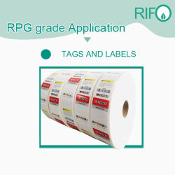Top Quality BOPP Labels Raw Materials by Jumbo Roll MSDS