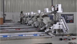 Foshan 100% Factory Ald-250 Automatic Ice Cream Horizontal Pillow Wrapping Packing Machine Price