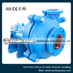 2016 Metallurgy Waste Water Treatment Industrial Centrifugal Slurry Pump