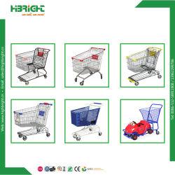Wholesale Supermarket Metal Shopping Cart Trolley